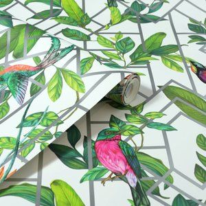 ARTHOUSE Hobart Tropical Wallpaper, 2 Rolls